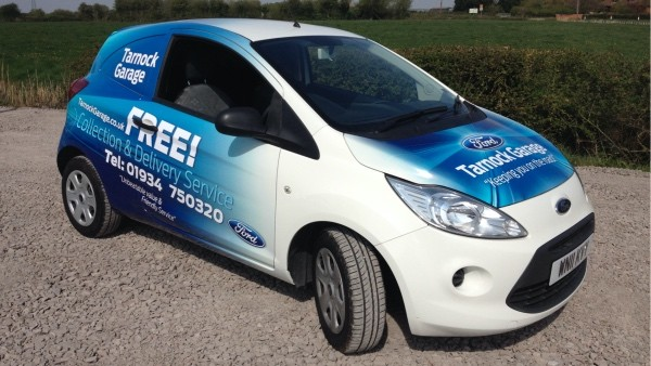 Tarnock Garage collect and deliver car