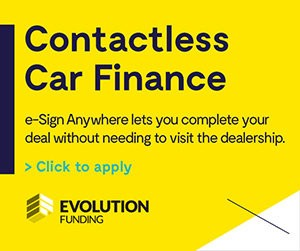 Contactless car finance